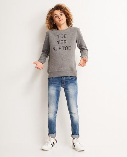 Sweater met dialect